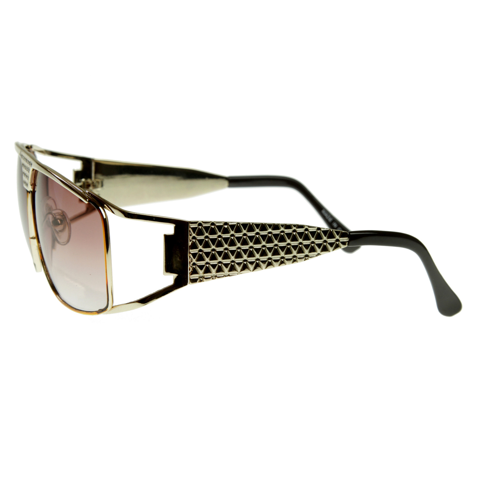 Designer Glasses Frames Las Vegas : Large Metal Elvis Style Glasses Sunglasses w/ Rhinestones ...