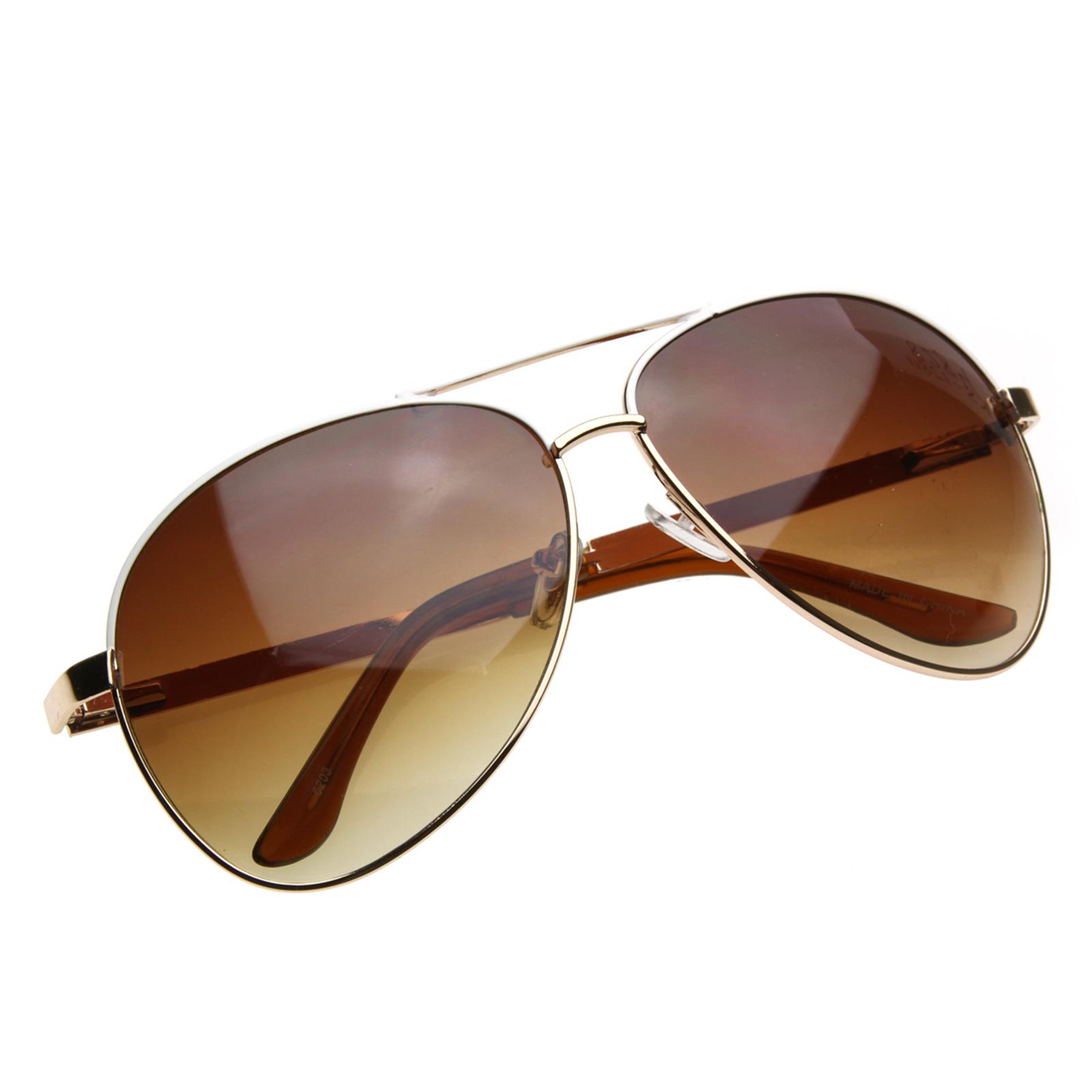 aviator sunglasses designer  designer inspired large