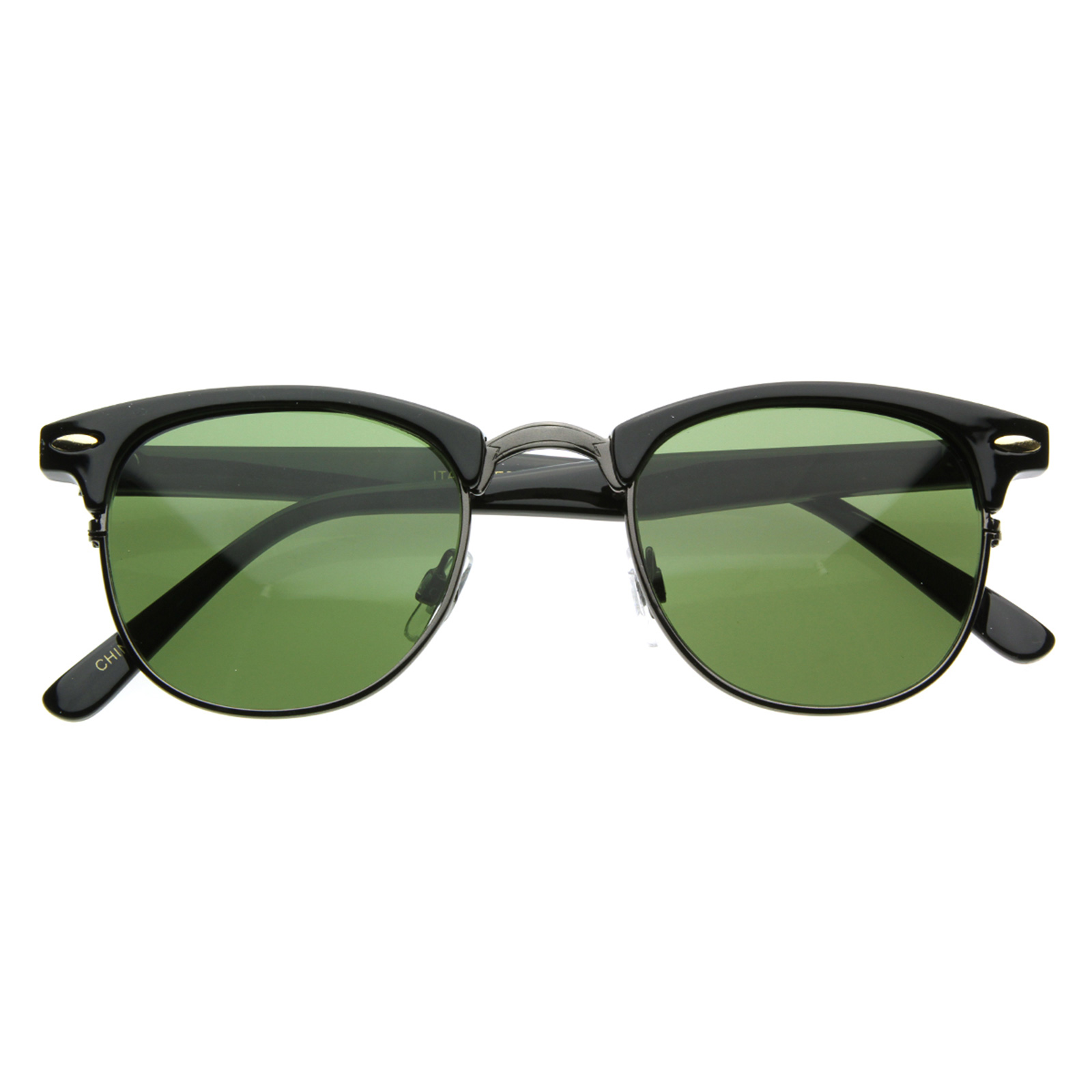 Half Frame Clubmaster Glasses : Vintage Half Frame Clubmaster Shades Style Classic Optical ...