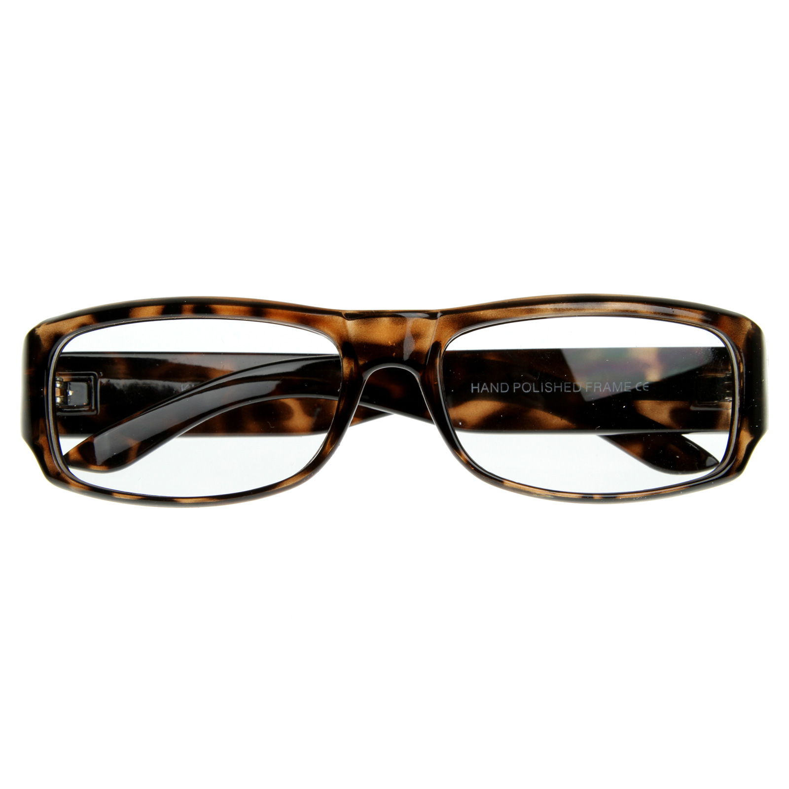 Large Rectangular Glasses Frame : Large Euro Designer Inspired Rectangular Bold RX Frame ...
