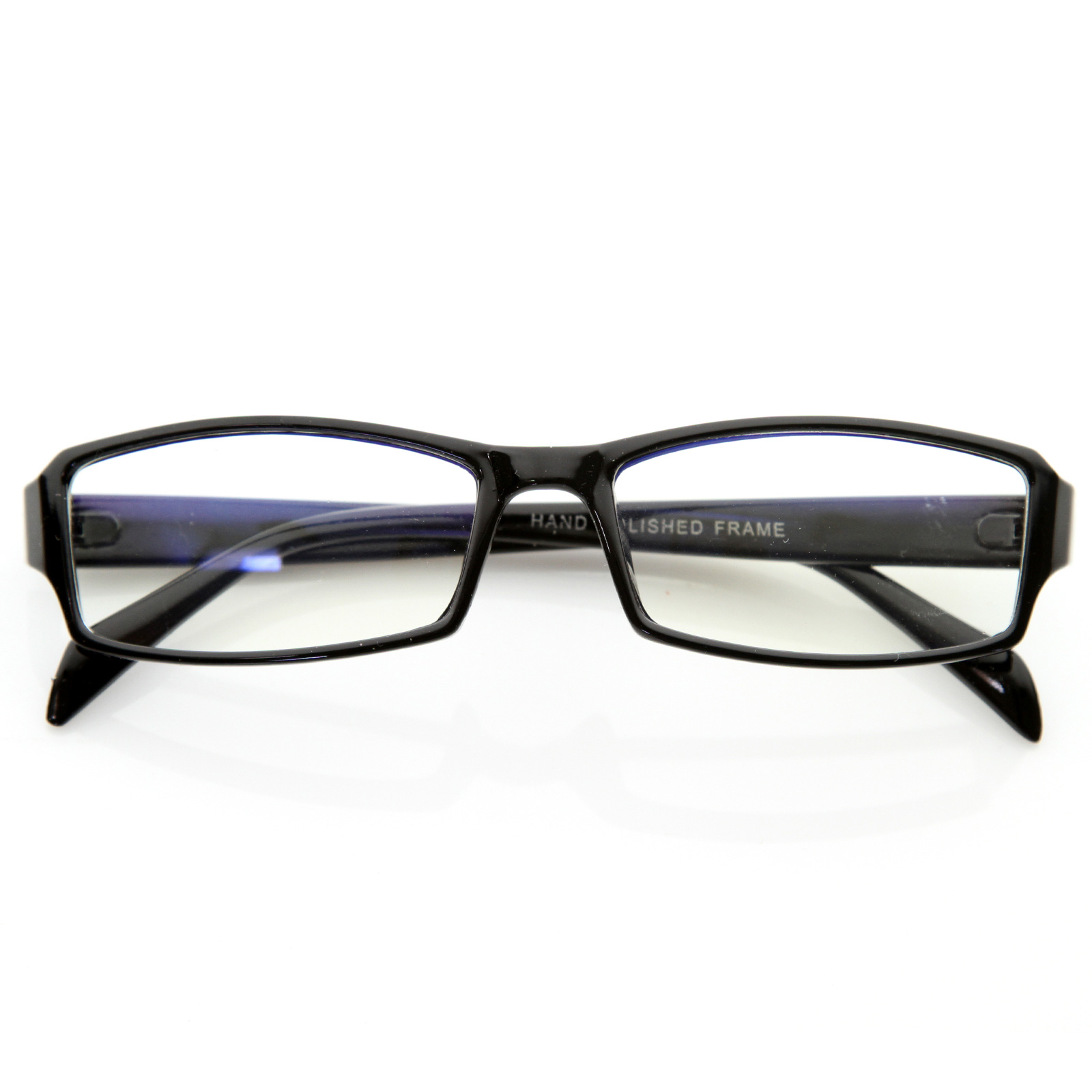 Glasses Frames Modern : Modern Rectangular Basic Frame Clear Lens Fashion Small ...