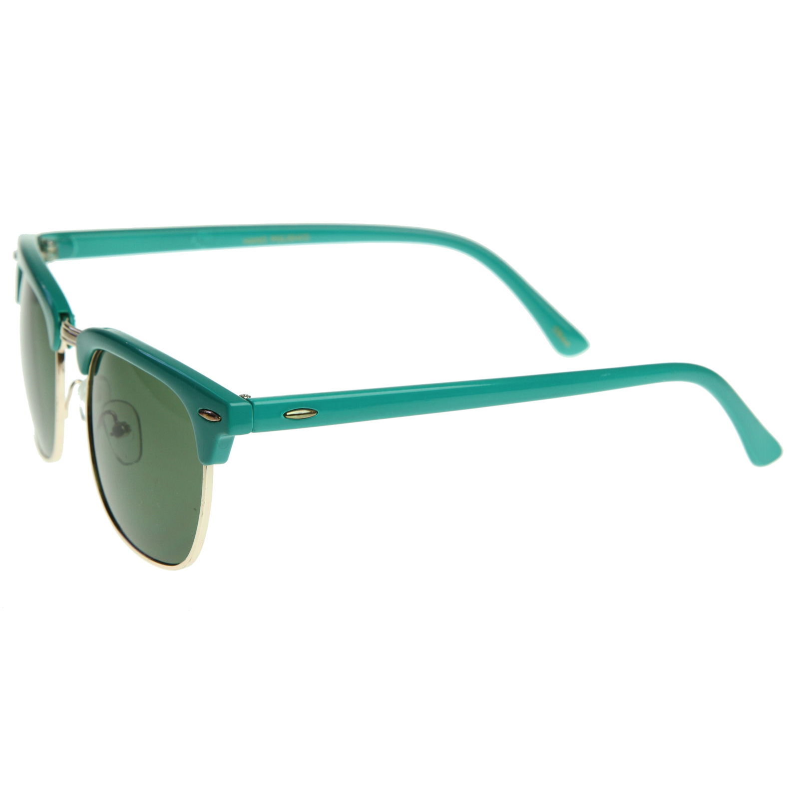 Wayfarer Glasses Half Frame : Retro Bright Multi Color Half Frame Clubmaster Style ...