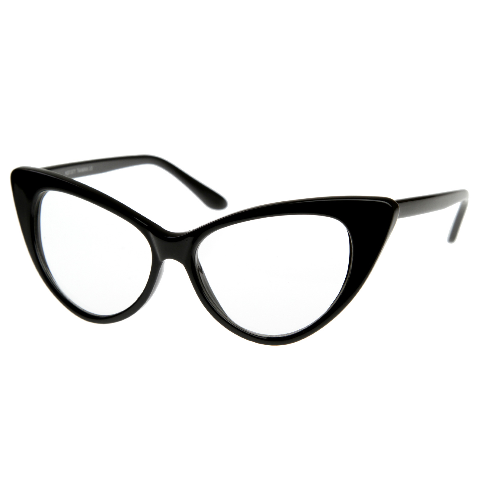 1960 s vintage inspired mod fashion clear lens cat