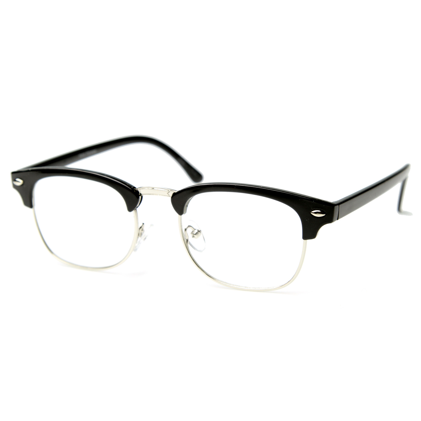 What Are Half Frame Glasses Called : Unworn Original Vintage Half Frame Clubmasters Shades ...