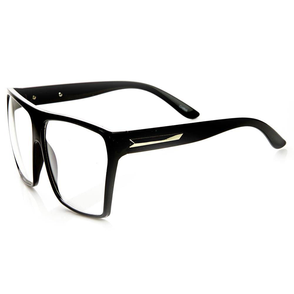 Big Frame Square Glasses images