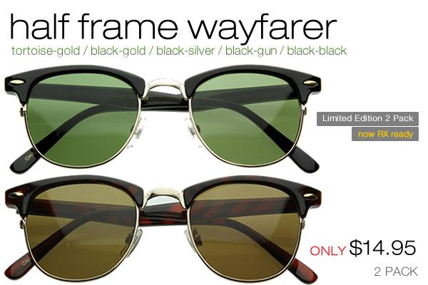 Half Frame Clubmaster