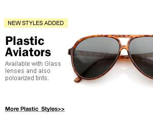 Plastic Aviators