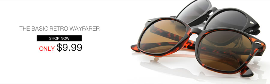 THE BASIC RETRO WAYFARER